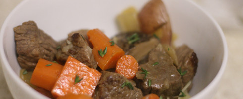 Got Yourself a Stew Going: Beef Stew