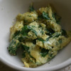 Ramp Fever: Scrambled Eggs with Ramps